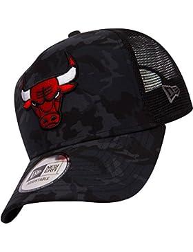 Gorra de camionero ajustable de New Era Camo Team ~ Chicago Bulls