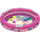 Ben y Holly - Piscina hinchable, 90 cm (Saica Toys 9567)