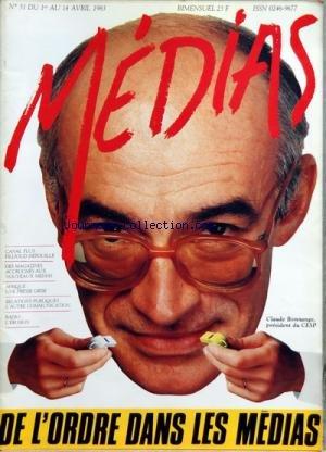 MEDIAS [No 51] du 01/04/1983