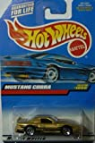 Hot Wheels Gold Mustang Cobra 1066 1998 by Hot Wheels