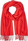 HUGO Herren Schal Men-Z 457, Rot (Medium Red 611), One Size (Herstellergröße: STCK)