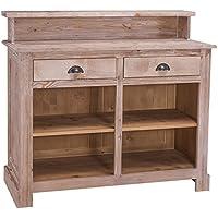 Comparador de precios Casa-Padrino Country Style Bar Cabinet Natural Colors 120 x 51 x H. 107 cm - Country Style Furniture - precios baratos