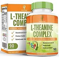 Suplemento de L-Teanina – Complejo de Alta Concentración con Magnesio y Zinc Añadidos - 90 Cápsulas (Suministro.