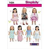 Simplicity us1484os Größe OS 18Puppe Kleidung