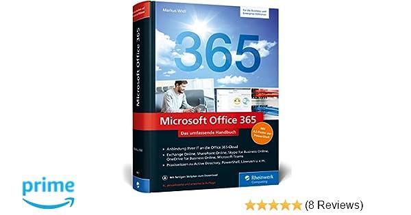 Microsoft Office 365 Das Umfassende Handbuch Für Administratoren