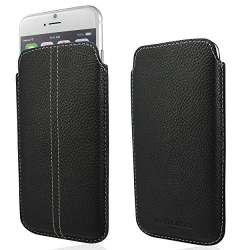 WIIUKA Echt Leder Tasche Apple iPhone 6 (4.7