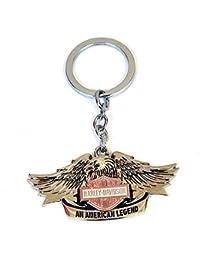 Stylish High Quality Metal Shield Logo Harley Davidson Motorcycle Keyring