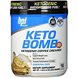 BPI Sports Ketogene Creme für Kaffee und Tee 18 Portionen Süßigkeit