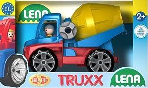 Simm Lena TRUXX 04403 vehículo de Juguete - Vehículos de Juguete, Camión, De plástico, Concrete Mixer, Interior / Exterior, 2 año(s)