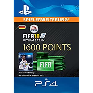 FIFA 18 Ultimate Team – 1600 FIFA Points | PS4 Download Code – deutsches Konto