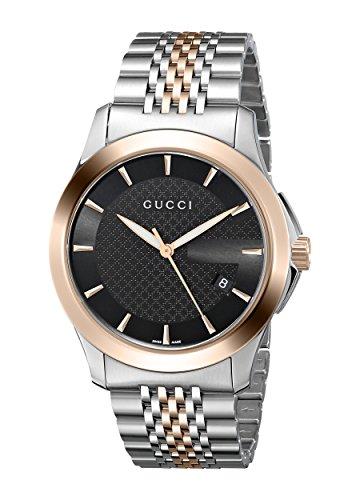 Gucci Analogico Quarzo Orologio da Polso YA126410