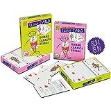 NSV - 6023 - ROMMÉ SLIM-CARD - 2 x 55 Blatt + Deckblatt - Schachteldesign - rosa - Kartenspiel