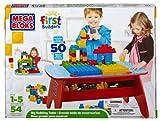 Mega Brands - Gran mesa de madera para jugar y construir (6629)