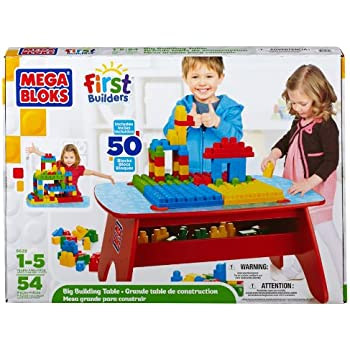 Mega Bloks First Builders Big Building Table