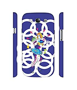 NattyCase Dancing Girl Design 3D Printed Hard Back Case Cover for Samsung Galaxy S3 i9300