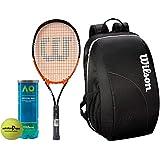 [Sponsored]Wilson All Tennis Kit (Match Point Tennis Racquet For Adults + Australia Open Tennis Ball, Pack Of 3 + Team Tennis Racquet Bag)