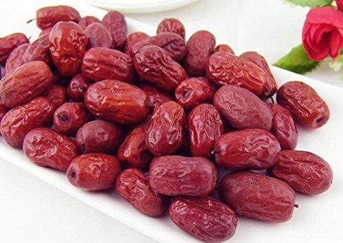 2 Pfund (908 Gramm) getrocknete Früchte Jujube hochgradige chinesische rote Datteln Hong Zao aus Xingjiang