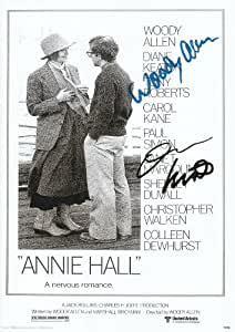 Annie Hall - Woody Allen & Diane Keaton Autographe Signé 21cm x 29.7cm affiche de photo