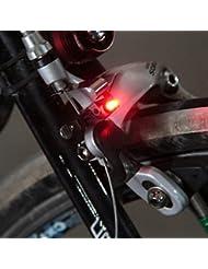 Forfar Avertissement de queue de bicyclette mini Lampe de frein à LED Pour les freins C / V Disque de frein