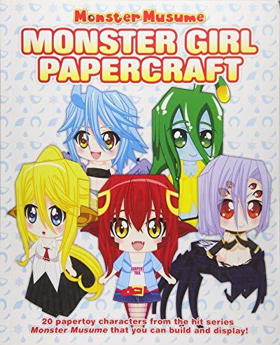 Monster Musume: Monster Girl Papercrafts (Kunst Sea Monster)