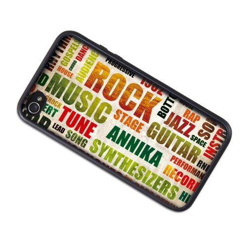 privatewear iPhone 4 (s) Case Rock Star mit Name: Annika
