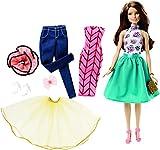 Barbie Mattel DJW59 - Modepuppen, Teresa Puppe und Modeset zum Kombinieren