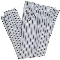 Wilson Juventud Equipo de poliéster Tejido de Rayas de béisbol para Hombre, Niños niña, Color Grey/Navy Pinstripes, tamaño X-Large