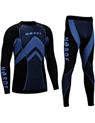 THERMOTECH NORDE Base Layer SET Manches Longues + Collant Long