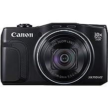 "Canon PowerShot SX710 HS - Cámara compacta de 20.3 Mp (pantalla de 3"", zoom óptico 30x, estabilizador digital), negro"