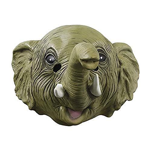 Máscara de Novela de Halloween Fiesta de Disfraces máscara de Elefante de látex,Máscara de Halloween