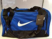 This Nike Brasilia Grip Bag is perfect for the gym or travelling thanks to the large main zipped compartment, complete with a small hook and loop tape pouch, for smaller valuables whilst the two zipped side pockets are ideal for storing those...
