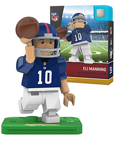 NFL New York Giants Gen4 Limited Edition Eli Manning Mini Figure, Small, White by OYO