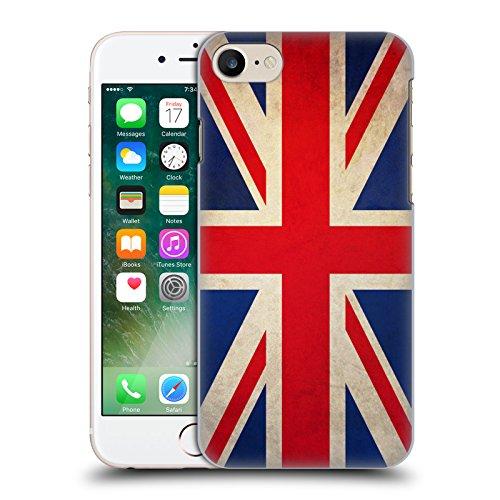 Head Case Designs Türkei Türkisch Vintage Fahnen Ruckseite Hülle für Apple iPhone 6 Plus / 6s Plus Grossbritannien Britisch