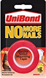 UniBond Rouleau adhésif double face permanent No More Nails – 19 mm x 1,5 m