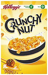 Kellogg's Crunchy Nut C'Flakes (UK Import), 375g