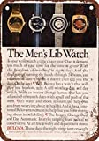 1973 Bulova Men39;s Liberation Watches Vintage Look Reproduction Metal Tin Sign 12X18 inches