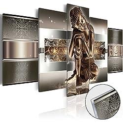 murando - Cuadro de cristal acrílico 200x100 cm - Cuadro de acrílico - Impresion en calidad fotografica – Buda h-C-0034-k-m