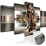 murando - Acrylglasbild Buddha 100x50 cm - 5 Teilig - Bilder Wandbild - modern - Decoration - h-C-0034-k-m