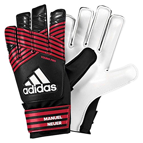 adidas Kinder ACE Young Pro Manuel Neuer Torwarthandschuhe, Black/FCB True red/White, 7