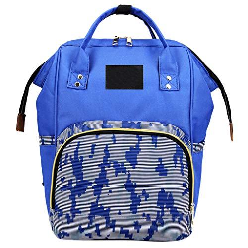 holitie Damen Schulrucksack Rucksack Backpack Schultasche handbag, Multifunktionstasche Mamabeutel Windelflasche Outdoor Tasche große Kapazität Baby Tasche Reiserucksack Pflegetasche
