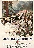 Vintage German WW1 1914-18 Automobile MERCEDES DAIMLER