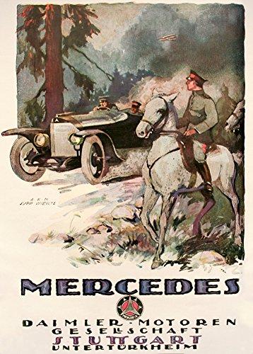 vintage-ww1-1914-1918-aleman-de-forma-mercedes-daimler-los-fabricantes-de-automoviles-stuttgart-de-n