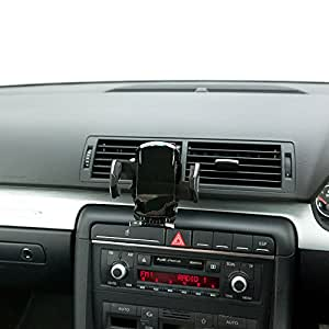 UltimateAddons Pro Air Vent Swivel V2 Mount Car Kit with Black Holder for Samsung Galaxy S2 i9100