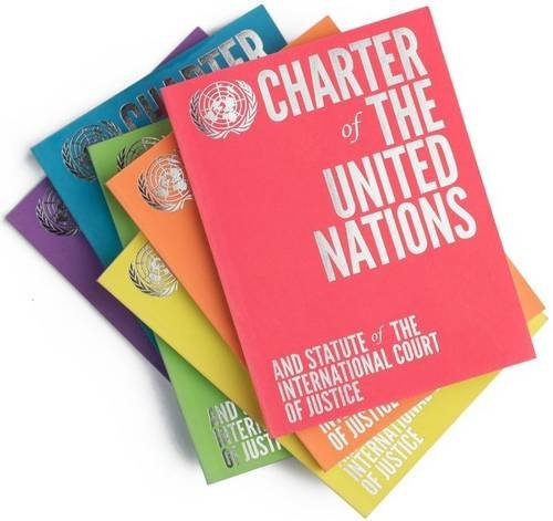 Charter of the United Nations and Statute of the International Court of Justice: Set of Six Colour Editions by United Nations Department of Public Information (2015-11-30)