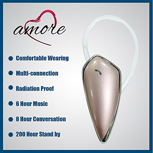 Amore Xolo Q1200 Mobile Bluetooth Headset Compatible With Volume Control  available at amazon for Rs.749