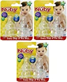 Nuby 12 Count (3 Pack) Silicone Nipples,...