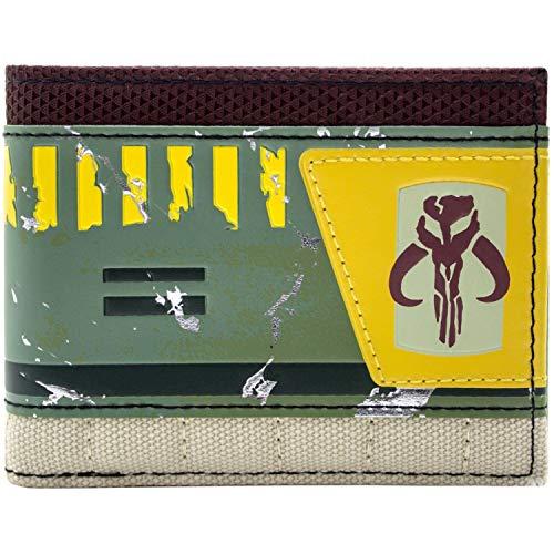 Star Wars Boba Fett strukturiert Grün Portemonnaie Geldbörse