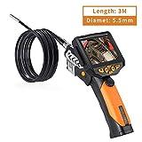 15 Metri Nero/Antracite Telecamera Ispezione a LED USB Endoscopio Boroscopio VGA LKM Security