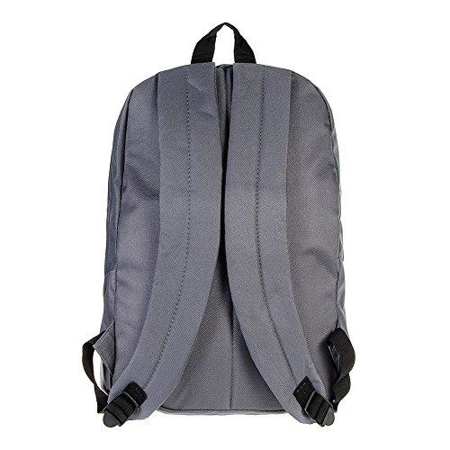 Just Hype Hype bag kit (Plain), Borsa a spalla uomo Taglia Unica Dark Grey