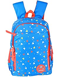 Friend Agencies Nylon 20 Liters Blue School Backpack (FA005)